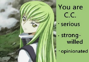 What Code Geass Character Are You?