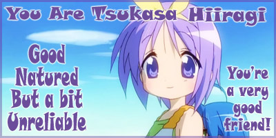 What Lucky Star Character Are You?