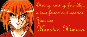What Rurouni Kenshin Guy Are You?