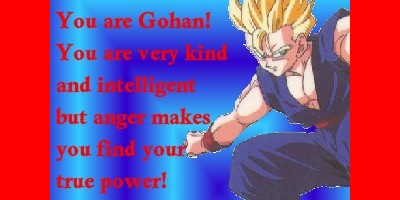 What Saiyan Are You?
