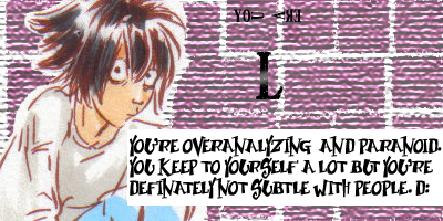 What Death Note Character Are You?