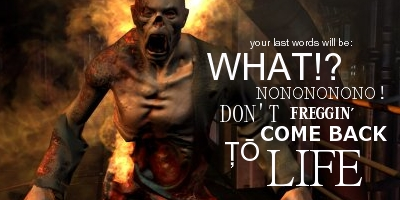 What Are Your Last Words Before GAME OVER?