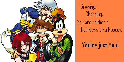 What Kingdom Hearts Type Are You?