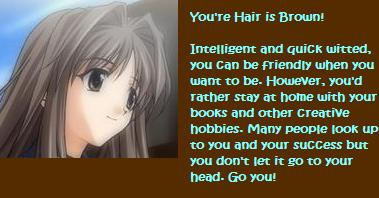 What Is Your Anime Hair Color?