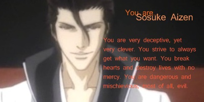 What Bleach Minor Character Are You?
