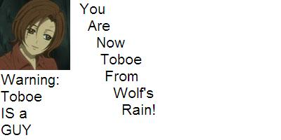 What Wolf's Rain Character Are You?