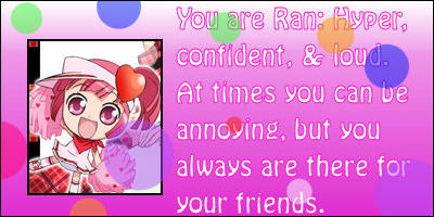 What Shugo Chara Guardian Are You?