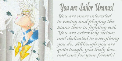 What Sailor Scout Are You?