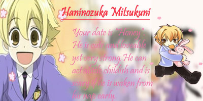 Who Is Your Ouran Host Date?