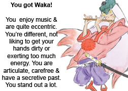 What Okami Character Are You?