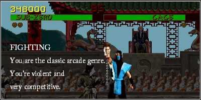 What Popular Video Game Genre Are You?