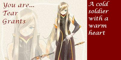 WhichTales of the Abyss Character Are You?