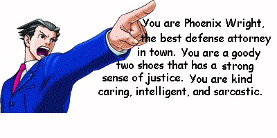 Which Phoenix Wright Character Are You?