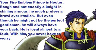Who Is Your Fire Emblem Prince?