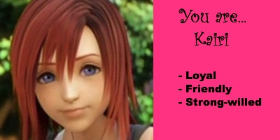 Which Kingdom Hearts Girl Are You?