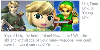 Which SSB Character Would You Be?
