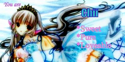 Which Chobits Character Are You?