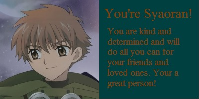What Tsubasa Main Character Are You?