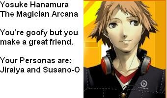 What Persona Four Character Are You?