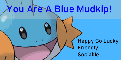 What Mudkip Are You?