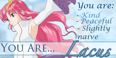 Are You Meer Or Lacus?