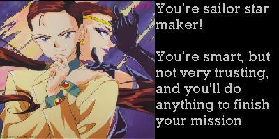 What Sailor Star Are You?