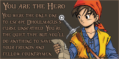 What Dragon Quest VIII Character Are You?