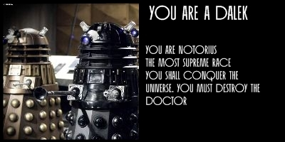 What Doctor Who Villain Are You?