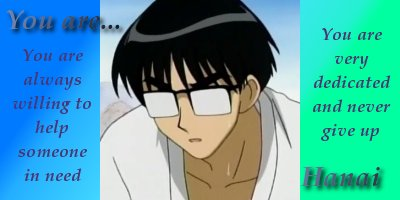 What School Rumble Character Are You?