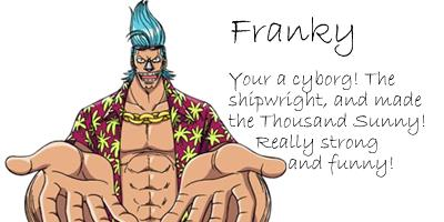 What Straw Hat Pirate Are You?
