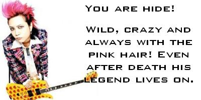 What JRock Legend Are You?