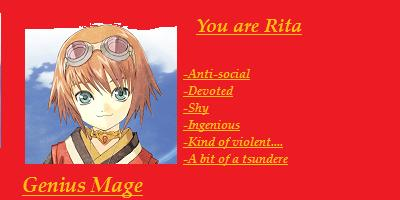What Tales Of  Vesperia Character Are You?