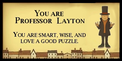 What Professor Layton And The Curious Village Character Are You?