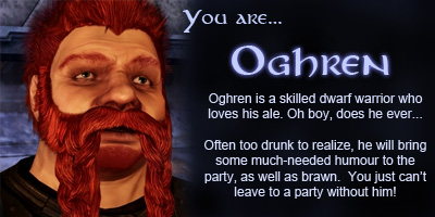 What Dragon Age: Origins Character Are You?
