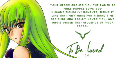 Which Geass Do You Have?