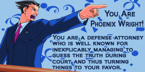 What Ace Attorney Character Are You?