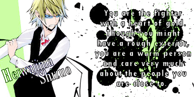 Which Durarara!! Character Are You?