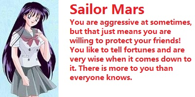 Which Sailor Scout Are You?