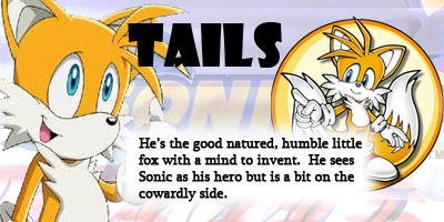 What Sonic-X Character Are You?
