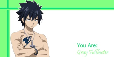 What Fairy Tail Character Are You?