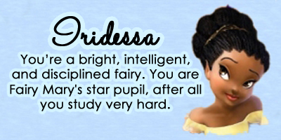Which Disney Fairy Are You?