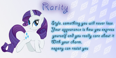 My Little Pony Personality Test!