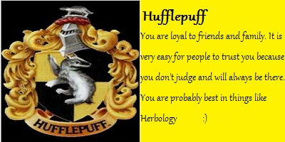 What House of Hogwarts did the Sorting Hat Place You In?
