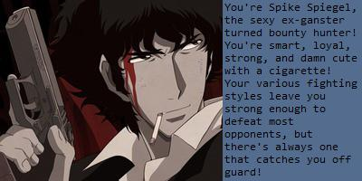 Which Cowboy Bebop character are you?