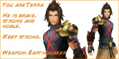 What Kingdom Hearts Character Are You?