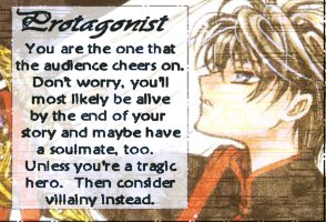 Are you a Protagonist or Antagonist?