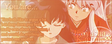 What Inuyasha Couple Are You?