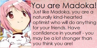 Which Madoka Magica Girl Are You?