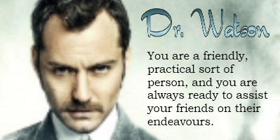 Which Sherlock Holmes Character Are You?