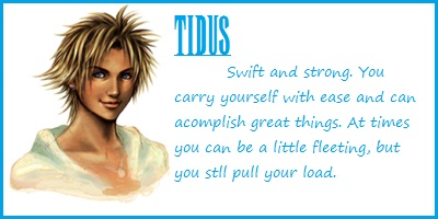 Which FFX Protagonist Are You?